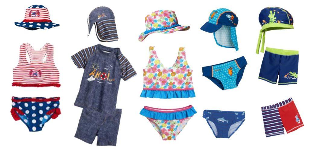 Bademode, Badebekleidung für Kinder - im Juni 25%