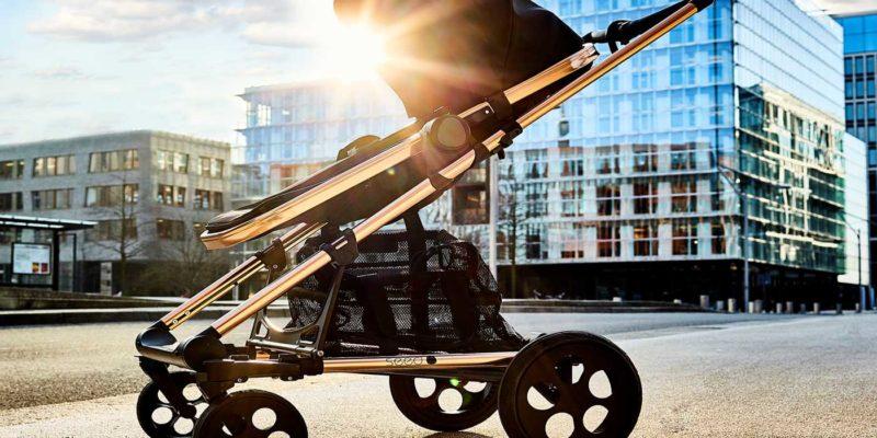 Kinderwagen von Britax-Römer in der Stadt