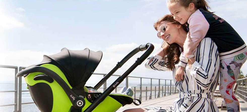 Kinderwagen Kiddy mit Babyschale vom Babcenter